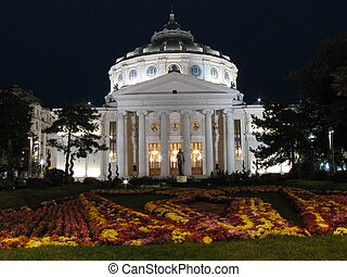 Romanian Atheneum - Bucharest, Romania, Eastern Europe
