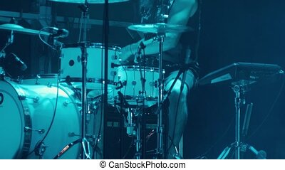 drummer live concert concert lighting