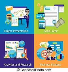 Concept Business Strategy Analytics and Research - Concept...
