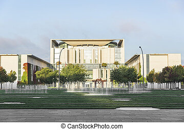 The Bundeskanzleramt, Berlin. The residence of the...