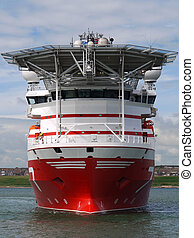 Offshore Vessel B2 - High tech offshore oil and gas subsea...