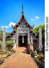 Wat Lok Molee is a Buddhist temple in Chiang Mai, Thailand