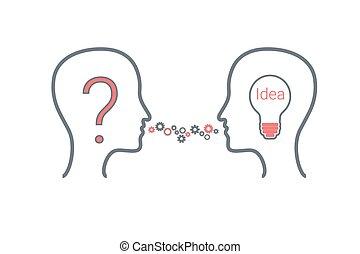 Creating Idea - Creating idea process.