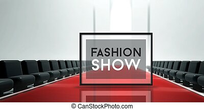 Red carpet runway Fashion Show - Red carpet runway, Fashion...