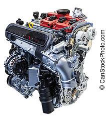 Five cylinder car engine - Modern five cylinder car engine...