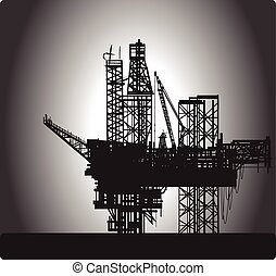 Oil Rig.