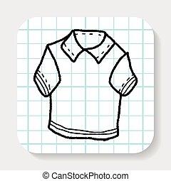 polo shirt doodle