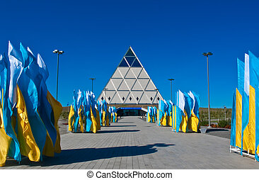 Palace of Peace and Reconciliation in Astana - Palace of...