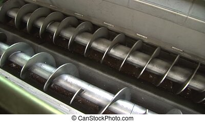 Screw Conveyor, Biogas Plant