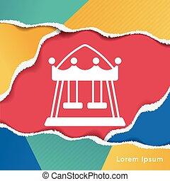 merry-go-round icon