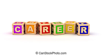Career Play Cubes