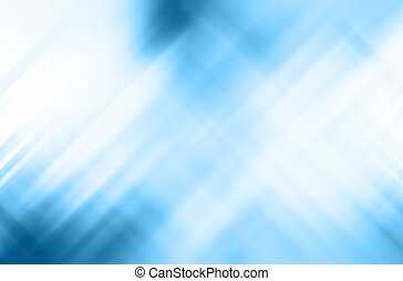 Motion on blue background, Abstract background.