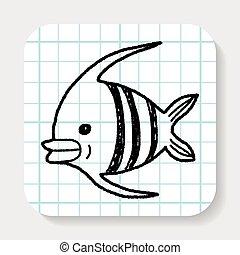 Doodle Angelfish