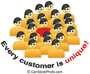 Customer unique - Every customer is unique