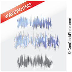 Waveforms - A set of modern designed waveforms