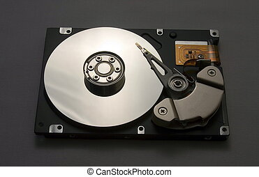Hard disk drive - Inside of the hard disk drive unit