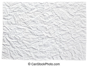 crushed paper - photo shot of texture of crushed paper