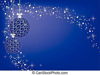 image christmas blue balls