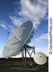 satélite, Platos