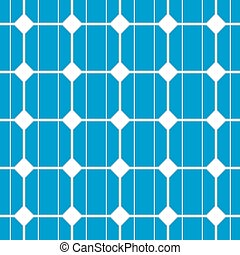 solar cell seamless - illustration of a seamless...
