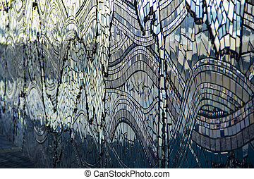 Mosaic along the river in Jacksonville, Florida - Mosaic...