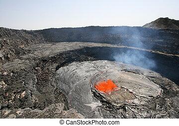 Erta Ale lava lake - Ethiopia