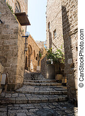Jaffa alley - Old Jaffa alley