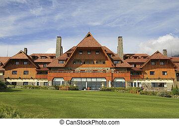 Bariloche - Famous old hotel in Bariloche, Argentina