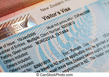 Visa - The visa to new Zealand