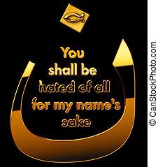 "Arabic ""N"" for the Nazarene"