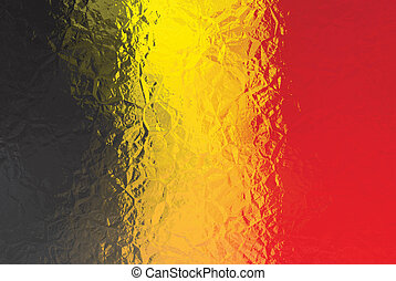 Belguim flag - Belgium flag - triangular polygonal pattern...