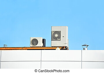 Industrial ventilation system - Industrial steel air...