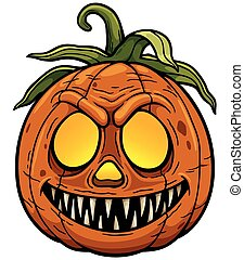 Pumpkin - illustration of Halloween pumpkin