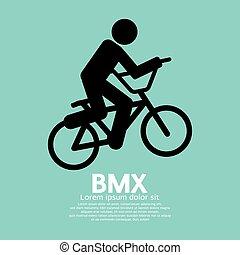 BMX Bicycle Sign.