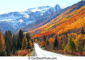 Million dollar highway - Million dollar high way in San Juan...