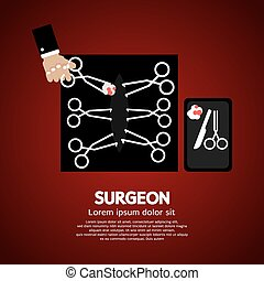Surgeons Incision Scissors - Surgeons Incision Scissors...