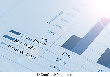 colorful graphs, charts, marketing Business concept -...