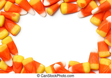 Candy Corn - Candy corn isolated on a white background