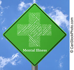 Mental Illness Sign Indicates Personality Disorder And...