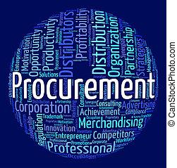 Procurement Word Means Procures Attainment And Procurements...