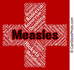 Measles, Word, Means, Koplik's, Spots, And, Ailment