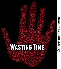 Wasting time Stock Illustrations. 809 Wasting time clip ...