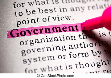 government - Fake Dictionary, Dictionary definition of the...