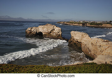 Santa Cruz State Park Natural Bridges