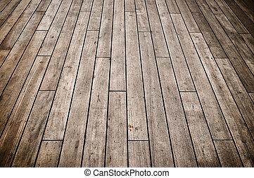 Dark Ship Deck