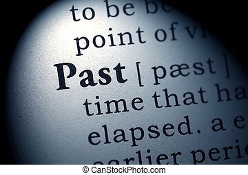 past - Fake Dictionary, Dictionary definition of the word...