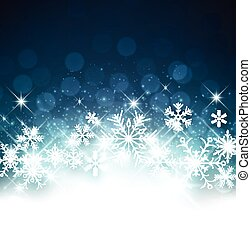 Winter Background. - Winter luminous background with...