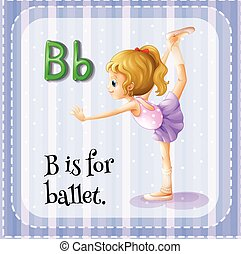Alphabet B is for ballet