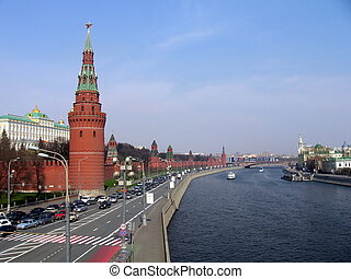 Moscow quay