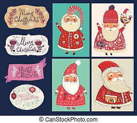 Christmas and New Year decoration - Holiday vector...